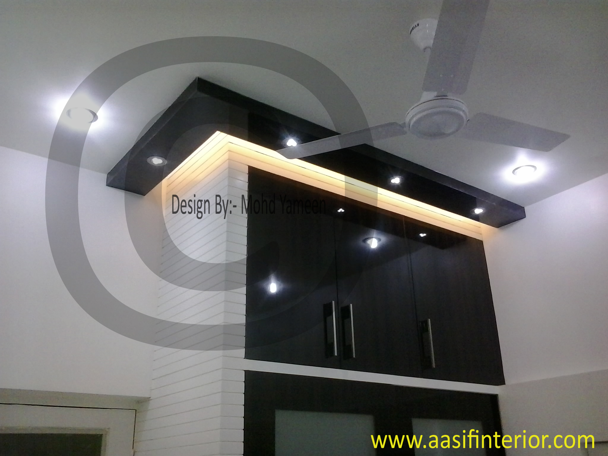 Latest Almirah Interior Designs with Bedroom - Aasif Interior Designer in Meerut