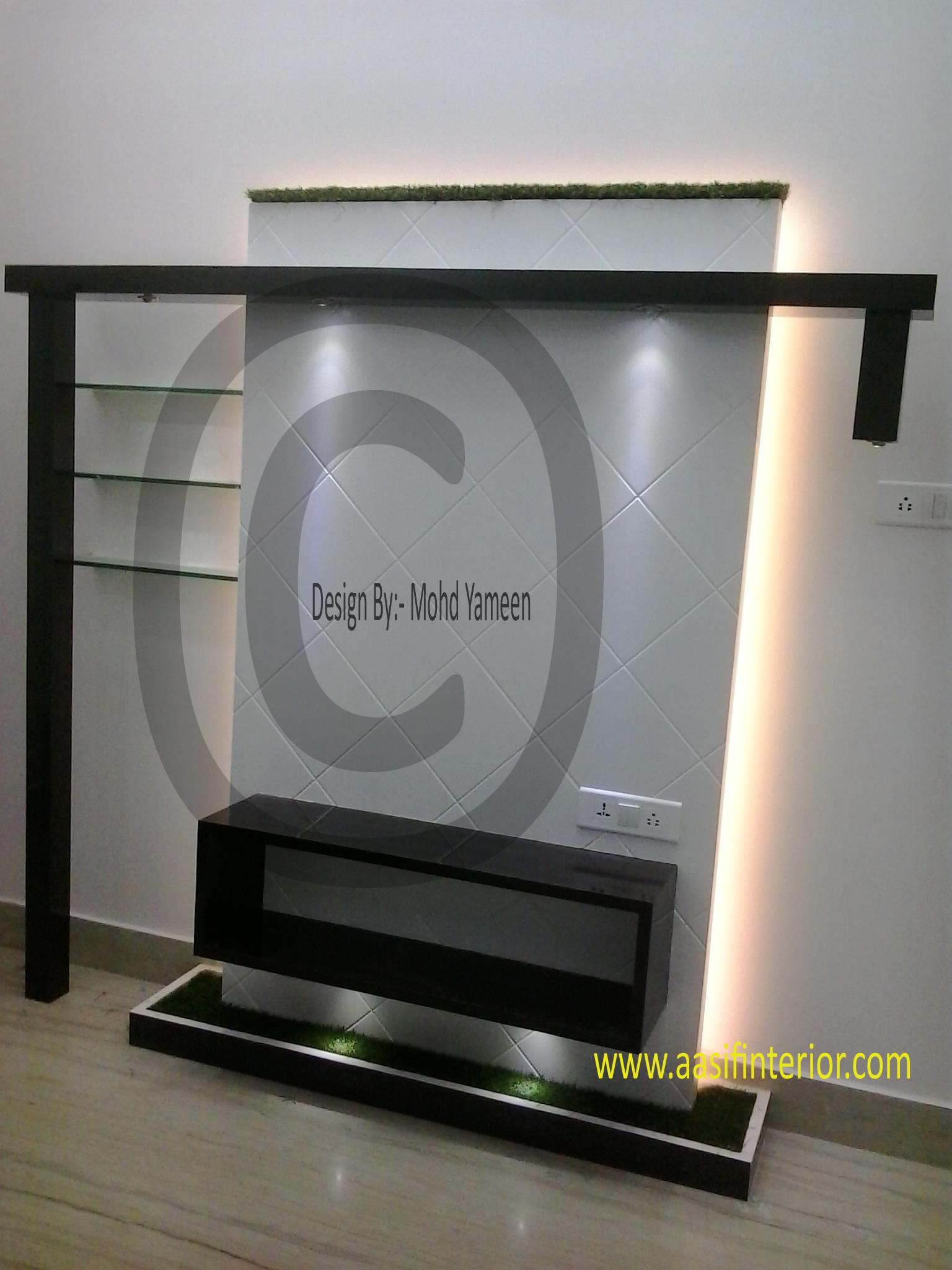 New LCD Interior Design - Best Aasif Interior Designer in Meerut